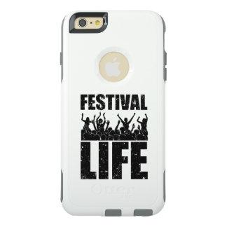 Het nieuwe LEVEN van het FESTIVAL (blk) OtterBox iPhone 6/6s Plus Hoesje