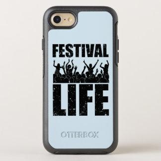 Het nieuwe LEVEN van het FESTIVAL (blk) OtterBox Symmetry iPhone 8/7 Hoesje
