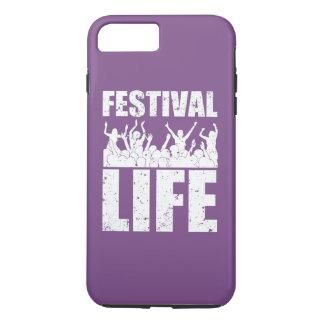 Het nieuwe LEVEN van het FESTIVAL (wht) iPhone 8/7 Plus Hoesje