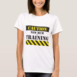 Het nieuwe mamma van de voorzichtigheid in t shirt