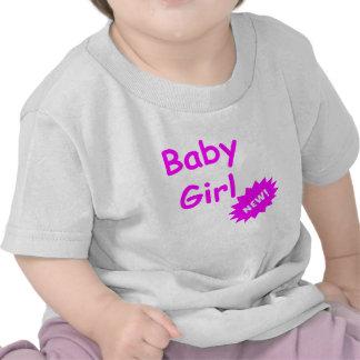 Het nieuwe Meisje van het Baby Tshirt