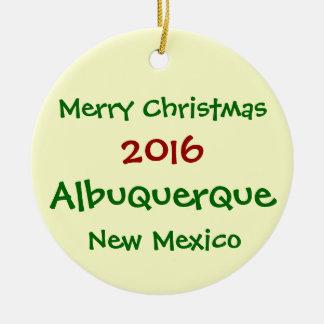 Het NIEUWE ORNAMENT van KERSTMIS van Albuquerque