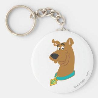 Het nieuwe Overzicht van Scooby Doo stelt 8 Basic Ronde Button Sleutelhanger