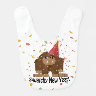 Het Nieuwjaar van Squatchy Baby Slabbetje