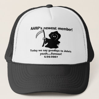 Het nieuwste lid van AARP! , Vandaag zeggen wij… Trucker Pet