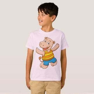 Het Nijlpaard van de Jongen van de T-shirt van