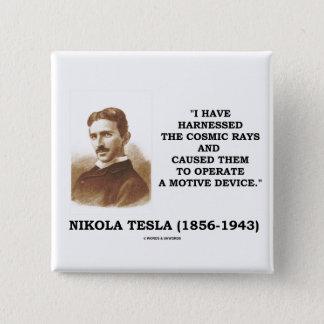 Het Nikola Tesla Uitgeruste Beweging veroorzakende Vierkante Button 5,1 Cm
