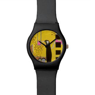 Het NIPPEN van de ZOETE NECTAR van het LEVEN door Horloges