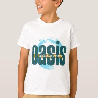 Het noordelijke Logo van de Oase Wasatch T Shirt
