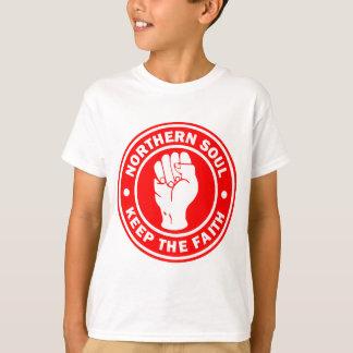 het noordelijke Rood van het zielLogo T Shirt