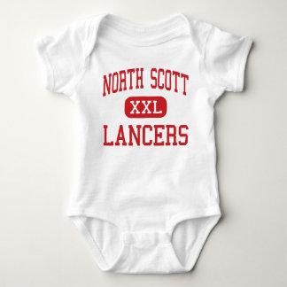 Het noorden Scott - Lansieren - Oudste - Eldridge Romper
