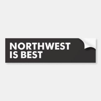 Het noordwesten is Best Bumpersticker