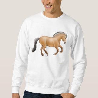 Het Noorse Sweatshirt van het Paard van de Fjord