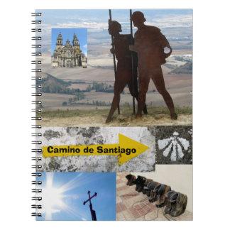 Het Notitieboekje van Camino DE Santiago Notitieboek