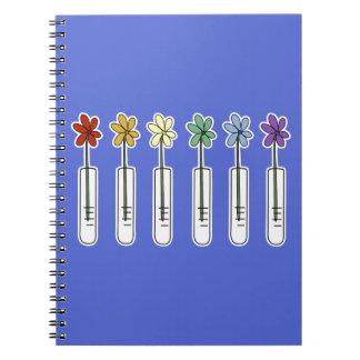 Het Notitieboekje van de Beker van de wetenschap Ringband Notitieboek