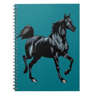 Het Notitieboekje van de Douane van het paard Ringband Notitieboek