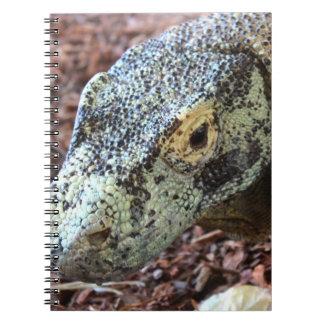 Het Notitieboekje van de Draak van Komodo Ringband Notitieboek