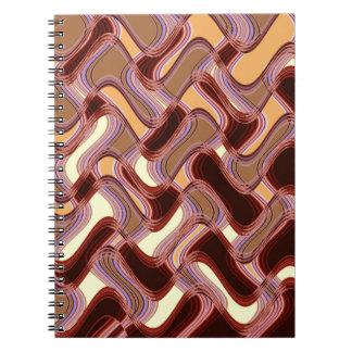Het Notitieboekje van de haven & van de Perzik Ringband Notitieboek