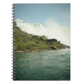Het Notitieboekje van de Herfsten van Niagara Ringband Notitieboek