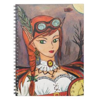 Het Notitieboekje van de Kunst van de Fantasie van Ringband Notitieboeken