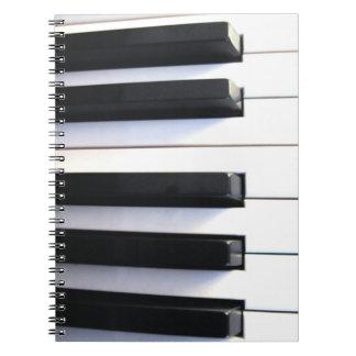 Het Notitieboekje van de piano Notitie Boek