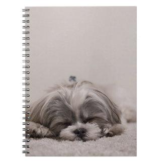Het Notitieboekje van de Slaap van tzu van Shih, Ringband Notitieboek