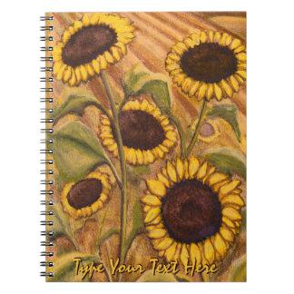 Het Notitieboekje van het Dagboek van de Bloem van Notitieboek