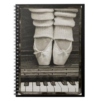 Het notitieboekje van het Duet van het Ballet van Notitieboeken