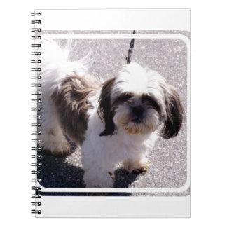 Het Notitieboekje van het Puppy van Tsu van Shih Notitieboek