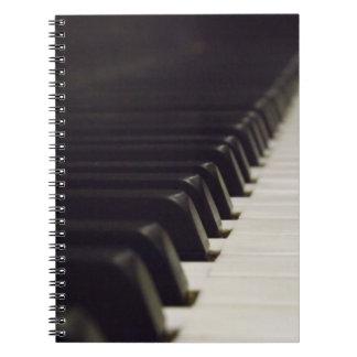 Het Notitieboekje van Pianoforte Notitie Boeken