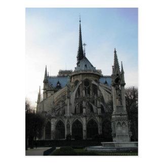 Het Notre Dame de Paris van het briefkaart