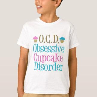 Het obsessieve Kind van de Wanorde Cupcake T Shirt