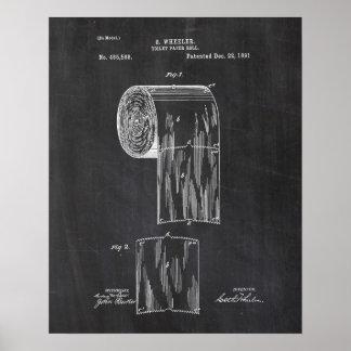 Het Octrooi van het toiletpapier Poster