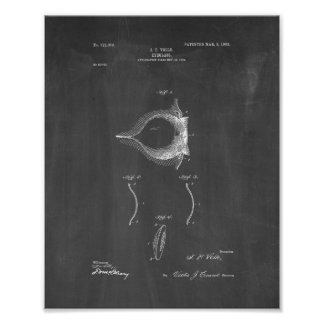 Het Octrooi van Lense van het contact - Bord Poster