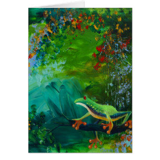 Het oerwoud regent II Briefkaarten 0