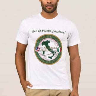 Het officiële Amerikaans-Italiaanse Unisex-T-shirt T Shirt