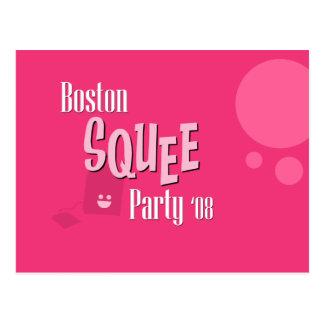 Het officiële Briefkaart van de Partij van Boston