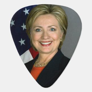 Het Officiële Portret van Hillary Clinton Gitaar Plectrum