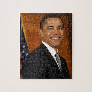 Het Officiële Portret van Obama van Barack Legpuzzel