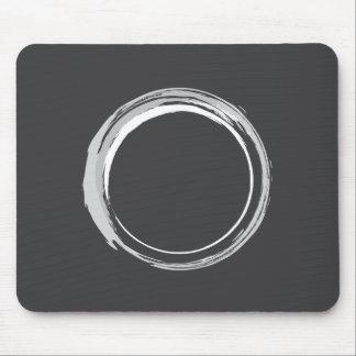 Het Ogenblik (Donkere) Mousepad van Zen Muismat