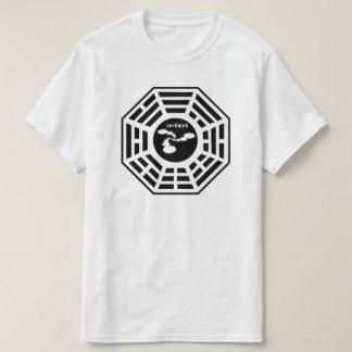 Het omringende Overhemd van het Logo van Bagua van T Shirt