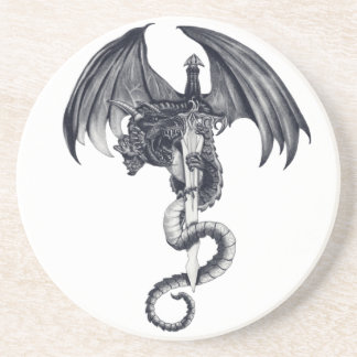 Het Onderzetter van de draak & van het Zwaard