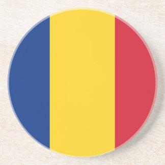 Het Onderzetter van de Vlag van Roemenië