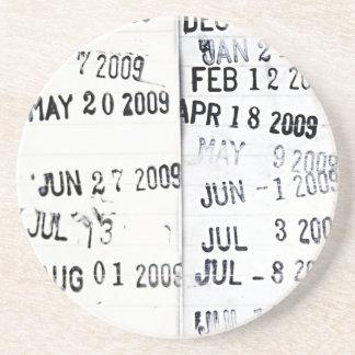 Het Onderzetter van de Zegel van de Datum van de b