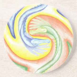 Het Onderzetter van Draken yin-Yang