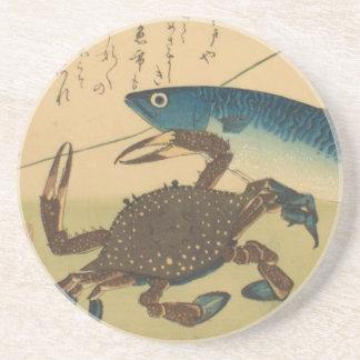 Het Onderzetter van Hiroshige van Ichiryusai