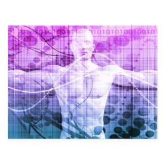 Het Onderzoek van de wetenschap als Concept voor Briefkaart