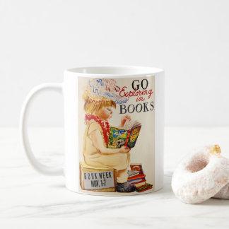 Het onderzoeken van Boeken 1961 Koffiemok