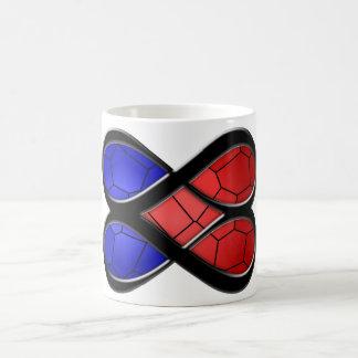 Het oneindige Gebrandschilderd glas van de Liefde Koffiemok