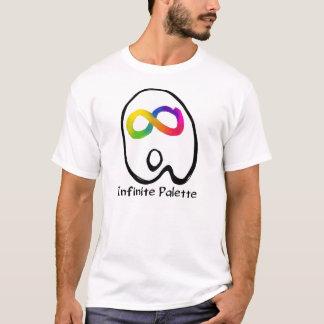 Het oneindige Logo van het Palet T Shirt